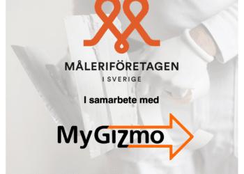 MyGizmo och Måleriföretagen i Sverige ingår samarbete